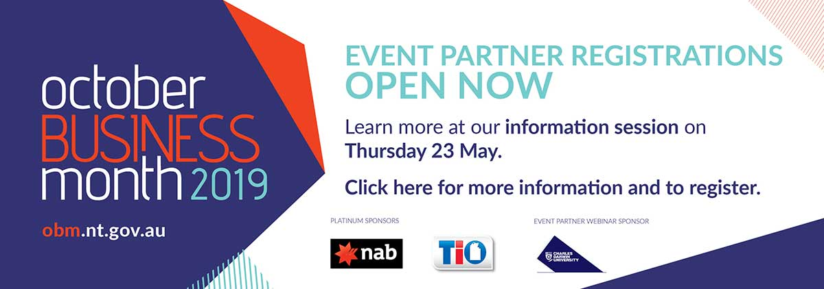 OBM event partner registrations are open, obm.nt.gov.au