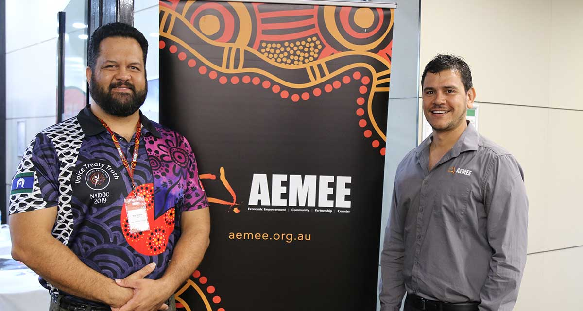 Participants at the AEMEE Conference