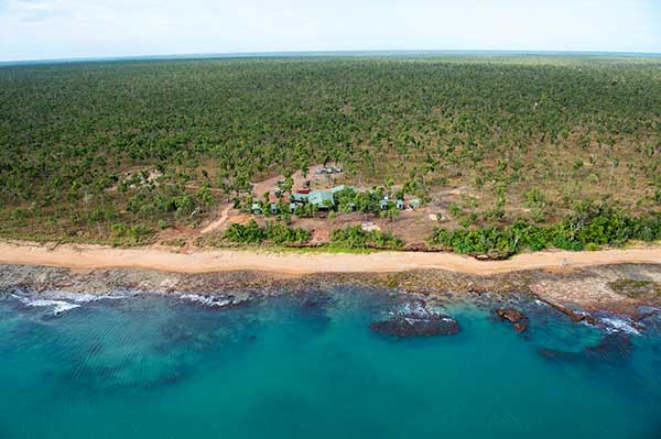 Aerial view of Dhipirri in Arnhemland