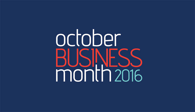 Chief Minister launches October Business Month