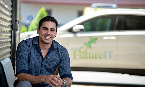 Forum ambassador connecting local Aboriginal businesses