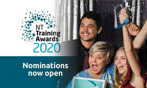 Nominate now for the 2020 NT Training Awards