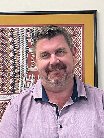 Portrait shot of Jarrod Ellis