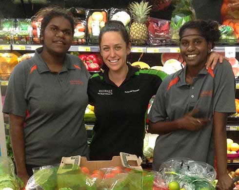 Outback Stores encouraging Territorians in training excellence