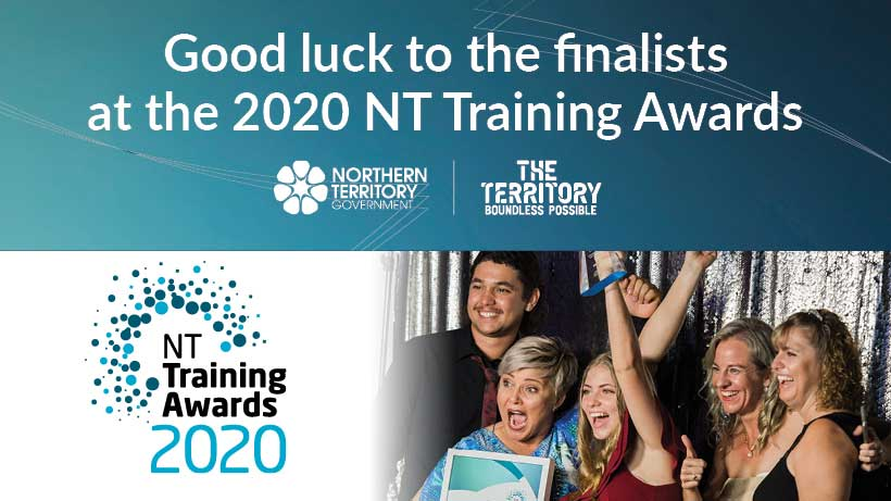 NTTA Facebook cover: good luck to the finalists