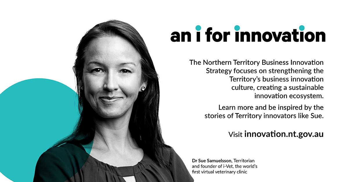 an i for innovation, visit innovation.nt.gov.au