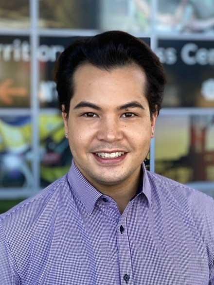 Portrait shot of Ricky Borg