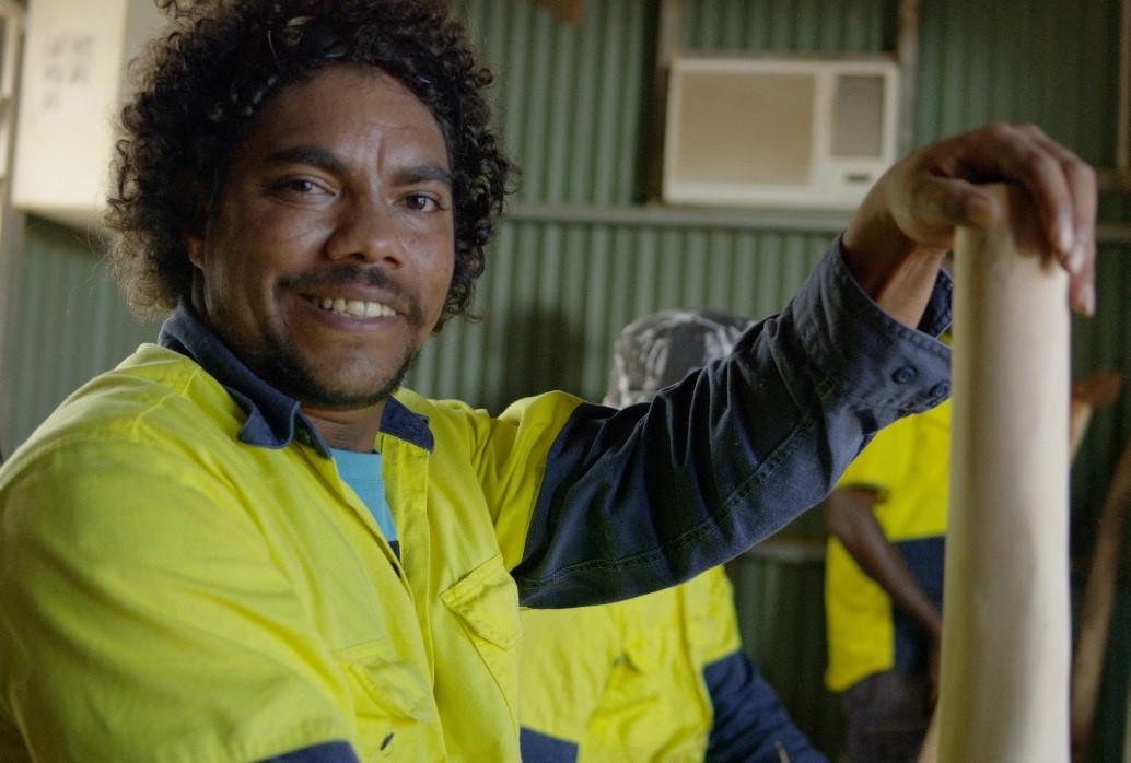 Portrait shot of a workman