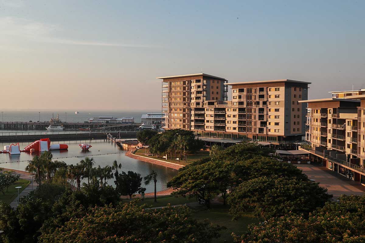 Buildings at Darwin Waterfront
