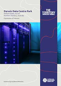Darwin Data Centre Park expression of interest brochure cover page