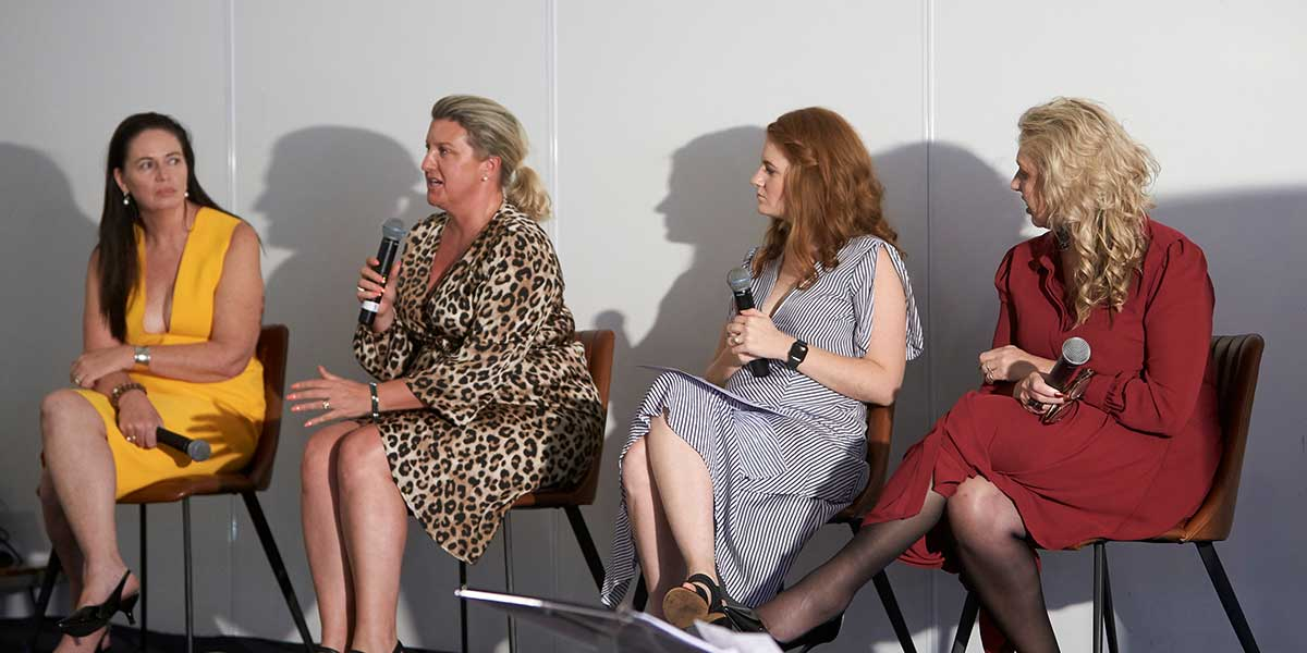Local business panel discussion at NAB's Business Moments event